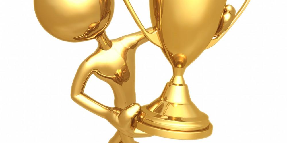 award trophy - infusionsoft