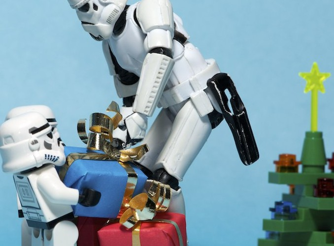 star wars figures, social media