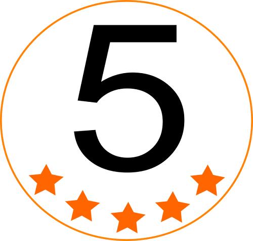 5 star review, social media