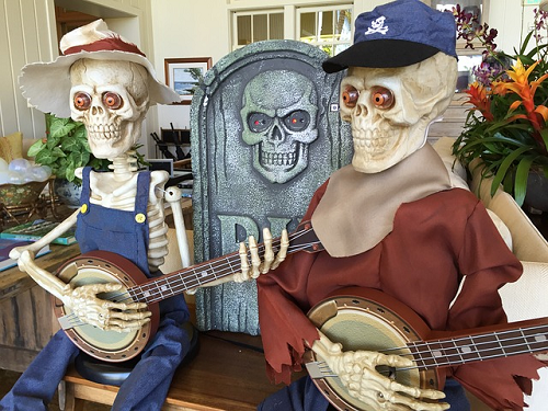 Google pagerank retired, skeletons playing banjos