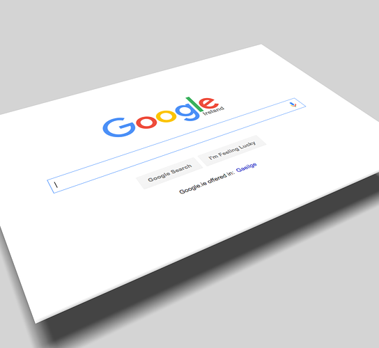 google home page . google-friendly site