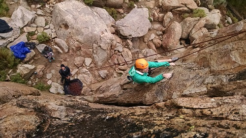 trusting-rock-climber