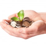 grow your business with infusionsoft, sprouted plant in open hands, nice to meet you campaigns