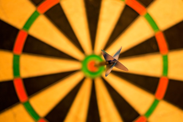 bulls -eye dart - retargeting