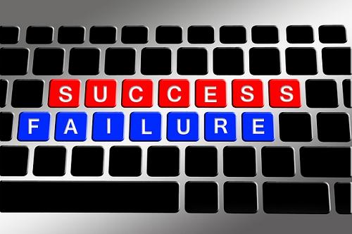 success-failure keyboard, reasons small busniesses fail